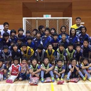 サッカー、フットサル用ジュニアサイズユニフォーム使用チーム画像 トレスフットボール