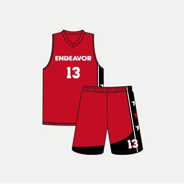 バスケットボール用ENDEVORリバーシブルウェア画像 トレスバスケットボール