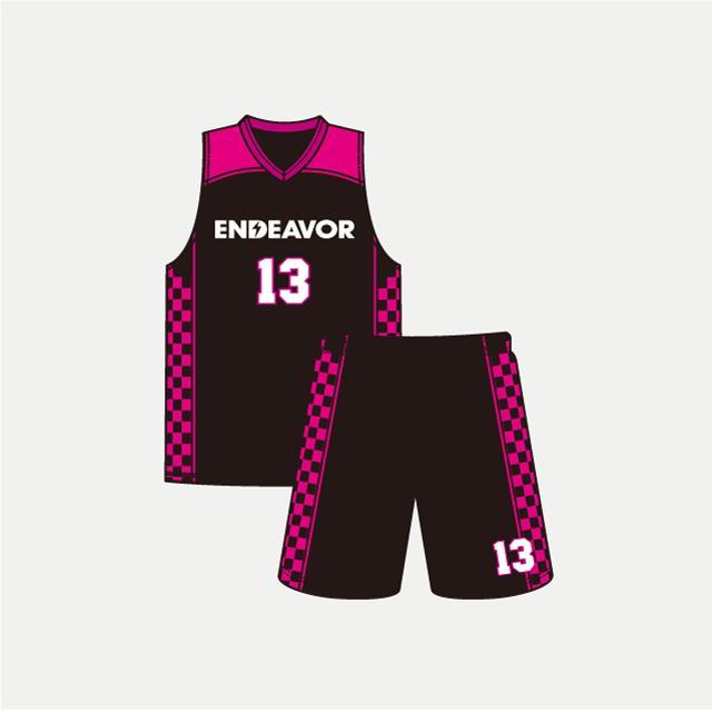 バスケットボール用ENDEVORゲームウェア画像 トレスバスケットボール