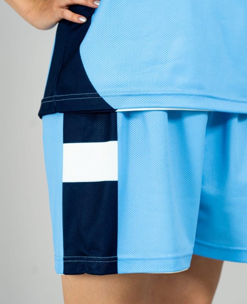 バスケットボール用リバーシブルウェア画像 側面・モデル トレスバスケットボール