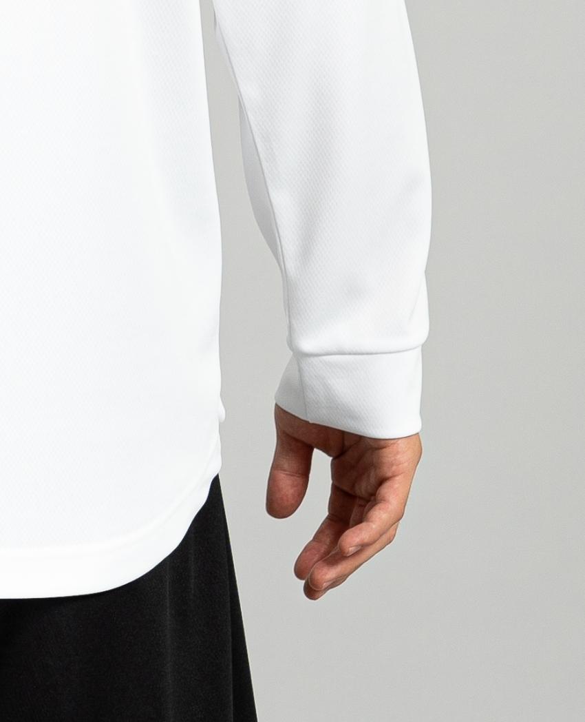 バスケットボール用イージードライシャツ ロンT画像 背面・モデル|トレスバスケットボール